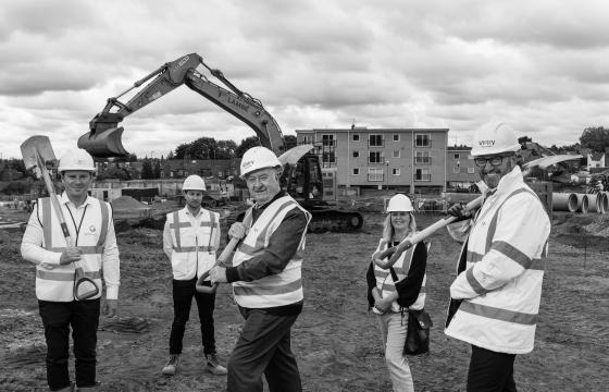 Paul Stockwell, our Chief Commercial Officer, comments on the ground break of the Raleigh Street development