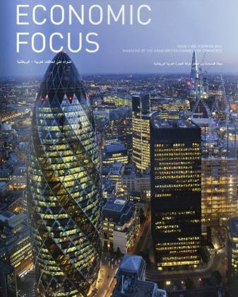 'Economic Focus' Magazine, published by the Arab British Chamber of Commerce